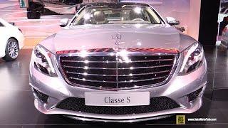 getlinkyoutube.com-2015 Mercedes-Benz S-Class S300 BlueTec Hybrid - Exterior,Interior Walkaround - 2014 Paris Auto Show