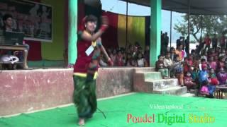 getlinkyoutube.com-Beautiful girl dancing at nepali song from wami gulmi