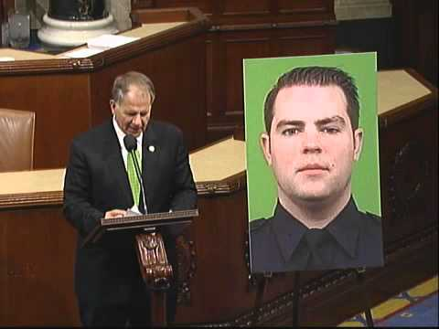 OFFICER KEVIN BRENNAN, NEW YORK POLICE DEPARTMENT