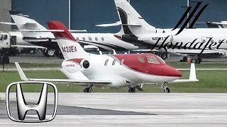"getlinkyoutube.com-Honda ""Honda Jet"" HA-420 (HDJT) departing & arriving at YUL on 24L"