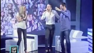getlinkyoutube.com-حسين الديك وطلال الداعور /لما بضمك ع صديري / من برنامج إنت قدا 2014 Enta Adda
