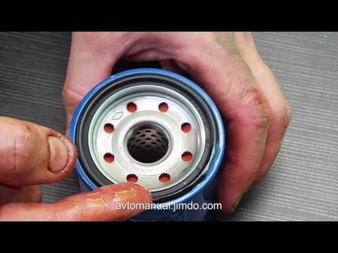 Замена моторного масла Acura MDX oil&filter change