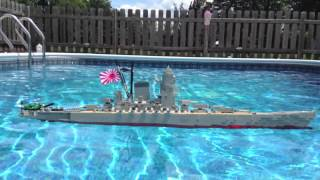 getlinkyoutube.com-LEGO Battleship Yamato Model Sinking