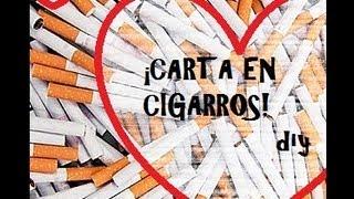 getlinkyoutube.com-¡Haz una carta en cigarros! Manualidades para san valentín/14 de febrero - DIY