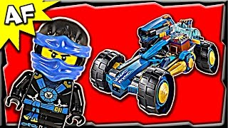 getlinkyoutube.com-Lego Ninjago JAY WALKER ONE 70731 Ghost Army Stop Motion Build Review