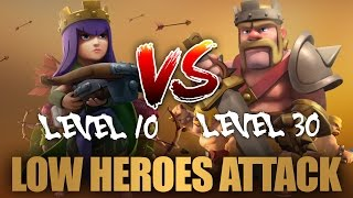 getlinkyoutube.com-Strategy For Low Heroes TH9 Attack Part 28 | Clash Of Clans