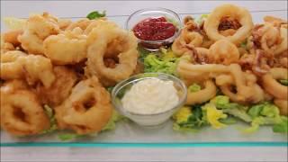 getlinkyoutube.com-الكلماري المقرمش والطري بطريقتين الشيف نادية | Recette de Calamars frits