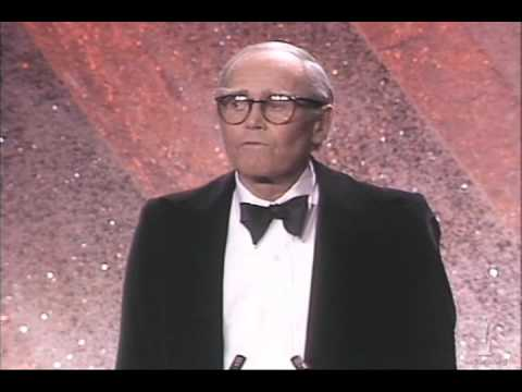 Henry Fonda receiving an Honorary Oscar