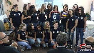 Presentazione squadra Saracena Volley 2017 - www.canalesicilia.it