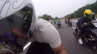getlinkyoutube.com-Yamaha Y15ZR highway ride malaysia style