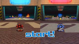 getlinkyoutube.com-Shadow The Hedgehog Gamplay HD: Shadow vs Sonic !!