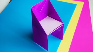 getlinkyoutube.com-How to make an origami chair