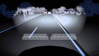 getlinkyoutube.com-Matrix LED HD84 Headlights System From Hella