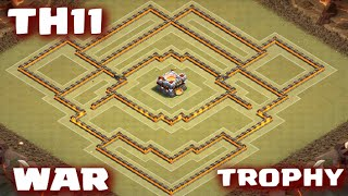getlinkyoutube.com-Clash of Clans - TownHall11 War/Trophy Base | Best Anti-Witch Base! - Clash of Clans TH11