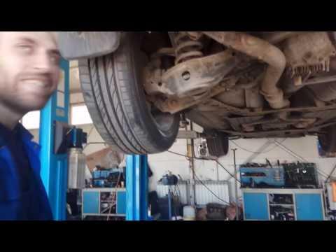 Infiniti FX35 s50 ремонтируем переднюю подвеску по дешману!
