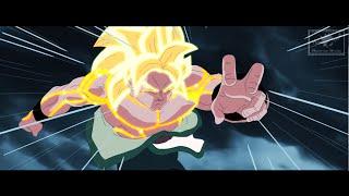 Celestial Dragon God Goku vs King Atama!!