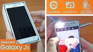 getlinkyoutube.com-Samsung Galaxy J5 Unboxing + Camera Test