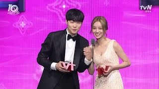getlinkyoutube.com-[ENGSUB/VIETSUB] Ryu Jun Yeol - Hyeri @tvN10 Awards Cut 161009