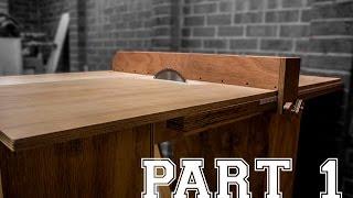getlinkyoutube.com-Making a table saw - Part 1