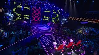 AGNEZ MO - Damn I Love You (Live The Voice Kids Indonesia 2 GTV) width=