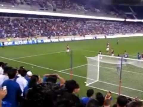 EL SALVADOR VS  AS ROMA-VIDEO-GRABADO- POR-PEDRO-7-27-2012