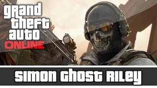 getlinkyoutube.com-GTA 5 Online -  Call of Duty MW2 Simon Ghost Riley Outfit And Customization