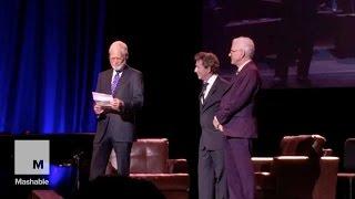 getlinkyoutube.com-David Letterman comes out of retirement to roast Donald Trump | Mashable