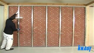 getlinkyoutube.com-Contropareti collegamento a muro con struttura in cartongesso - coimperTV