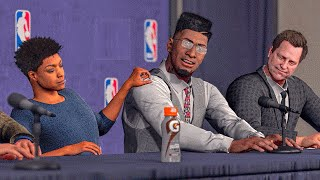 getlinkyoutube.com-NBA 2k16 MyCareer | The NBA Draft | 1st Overall w/ Maxed Deal?
