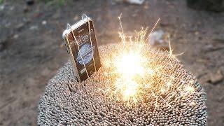 getlinkyoutube.com-IPHONE 2G OVER 5000 SPARKLERS ! Will it Survive ?