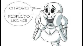 getlinkyoutube.com-Undertale Comic Dub: Papyrus's New Fan