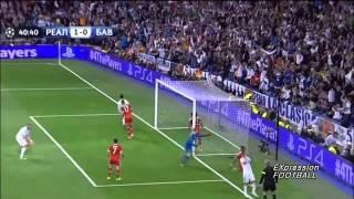 getlinkyoutube.com-Лига чемпионов 2014 1/2 финала реал мадрид и бавария,,  1-0   2014.4.24