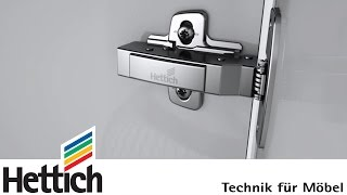 getlinkyoutube.com-Sensys: the designer hinge with integrated Silent System, made by Hettich