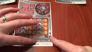getlinkyoutube.com-Triple Stars Scratch Offs - 1/21/16