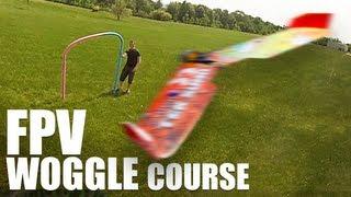 getlinkyoutube.com-FPV Woggle Course (RACE WINGS) | Flite Test