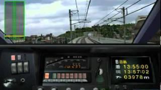 getlinkyoutube.com-電車でGO!新幹線のひかり151号(遅れダイヤ)で0cm停車