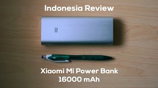 getlinkyoutube.com-Review Xiaomi Mi Power Bank Indonesia 16000 mAh