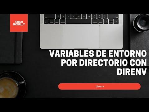Variables de entorno por directorio con direnv