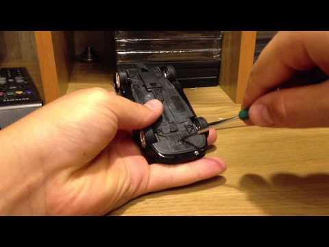 Тюнинг маштабных моделей (как сделать споллер и поменять колеса)