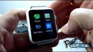 getlinkyoutube.com-Celular Relógio  Android 4 4  Autonomo  3G  Camera