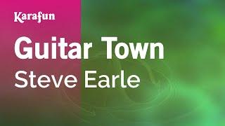 getlinkyoutube.com-Karaoke Guitar Town - Steve Earle *
