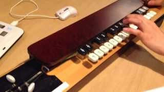 getlinkyoutube.com-ひぐらしのなく頃に you   大正琴  Japanese Harp (Taisyo Koto)