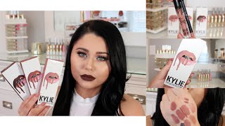 getlinkyoutube.com-Kylie Lip Kit Review, Swatches, Comparisons & DUPES
