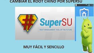 getlinkyoutube.com-CÓMO CAMBIAR EL ROOT CHINO POR SUPERSU ORIGINAL