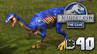 getlinkyoutube.com-Blue....BLUE!?!? || Jurassic World - The Game - Ep 40 HD
