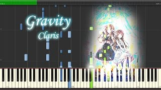 getlinkyoutube.com-Gravity - ClariS 『クオリディア・コード』 Full Piano 【Sheet Music/楽譜】