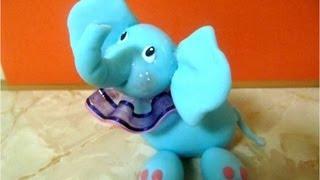 getlinkyoutube.com-Manualidades elefantito baby de porcelana fría