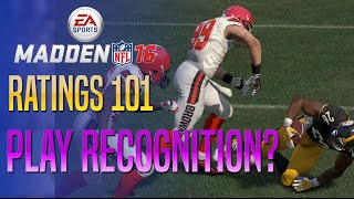 getlinkyoutube.com-Madden 16 Ratings - What Does Play Recognition Do On Defense?