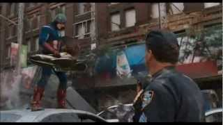 getlinkyoutube.com-The AVENGERS - Captain America Defense Strategy [HD]