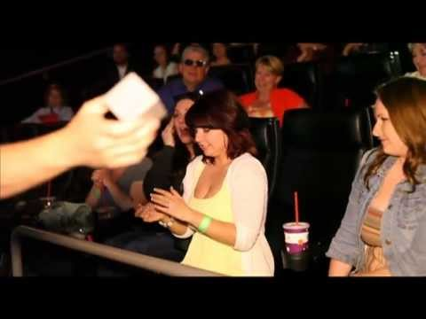 Epic Movie Theatre Proposal! Richie & Joanne's Engagement(w/ her reaction)